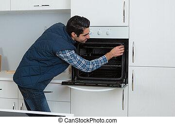 checking, духовой шкаф