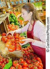 checking, помидоры