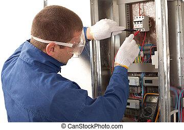 checking, энергия, электрик, метр