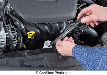 Checking Antifreeze in a Car collant System