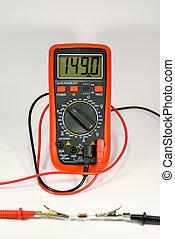 checking, multimeter, резистор