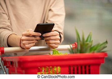 Checking Shopping List