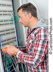 Checking the server