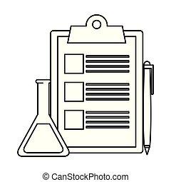 checklist clipboard with pen