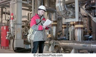 checklist, roślina, wnętrze, moc, inżynier