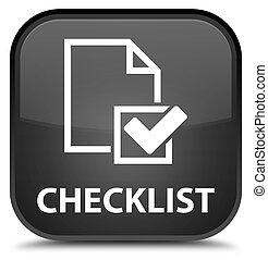 Checklist special black square button