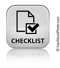 Checklist special white square button