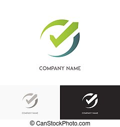 checkmark, cadran, logo