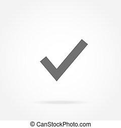 checkmark, icono