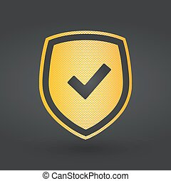 Checkmark Shield sign