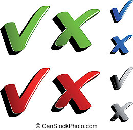 checkmark, vetorial, carrapatos