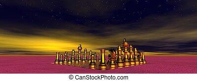 checkmate and sky yellow
