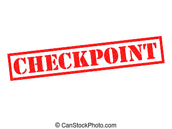 CHECKPOINT Rubber Stamp