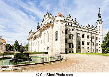 checo, litomysl, palacio, república