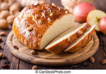 checo, pastel, chrismas, celebración