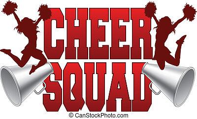 cheer, squad