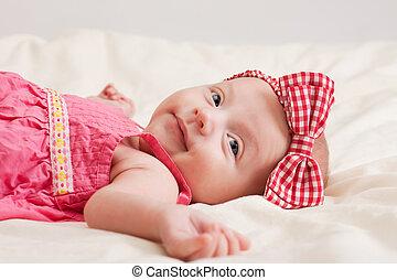 Cheerful Baby Girl Toddler