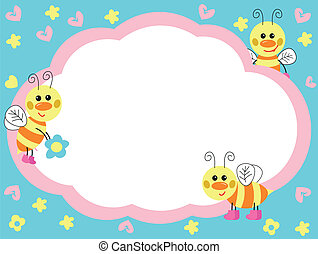 cheerful bees
