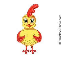 Cheerful Cockerel