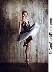 cheerful dancer