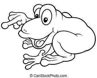 Cheerful Frog