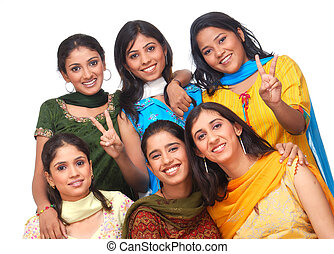 group of girls