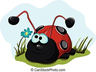 Cheerful-ladybug-for-children