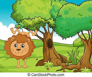 Cheerful Lion