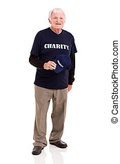 senior charity worker