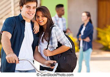 teen girlfriend and boyfriend