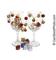 Cheerful Wine Glasses