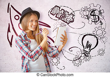 Education and creativity concept