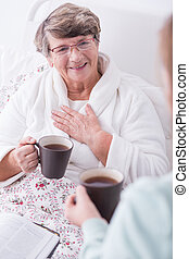 Cheerfulness and positive attitude - Image of woman with...
