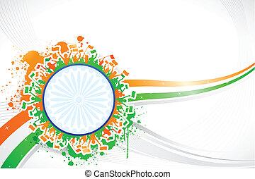 Cheering Indian