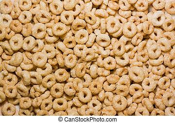 Cheerios up close