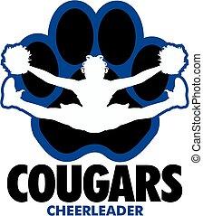 cheerleader, cougars