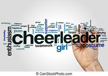Cheerleader word cloud