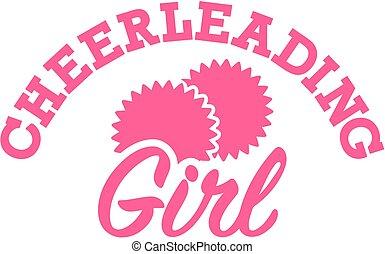 cheerleading, ragazza