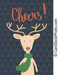 cheers deer