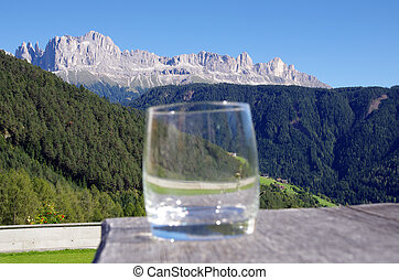 cheers from the dolomites