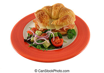 Cheese And Ham Croissant 1