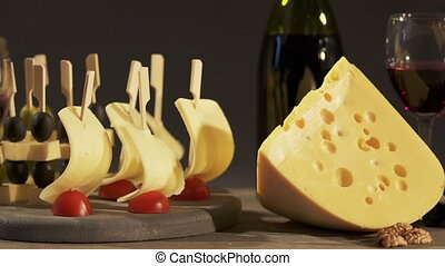 Cheese and wine tasting for two