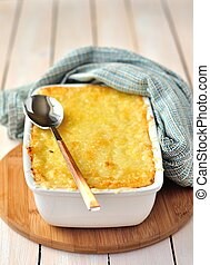 Cheese Bake - Any bake topped with tasty melted cheese