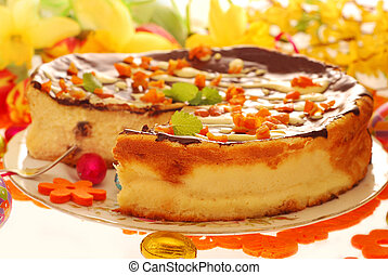cheese cake for easter