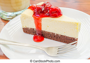 Cheese cake - Strawberry cheese cake