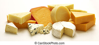 Cheese Collection - A collection a various types of cheese ...