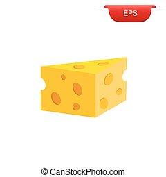 cheese, icon, graphic design