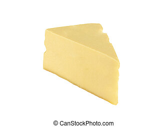 cheese isolated on a white background
