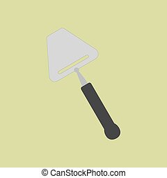 Cheese knife icon