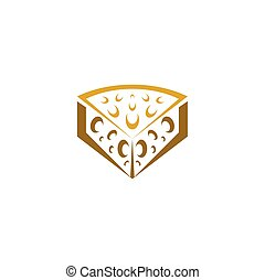 cheese logo symbol icon vector element